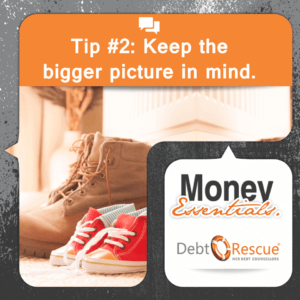Debt Rescue Financial Basics Tip