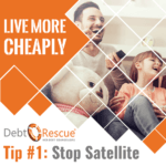 Stop satellite
