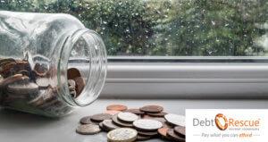 Save money ON a rainy day