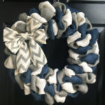Make your own bow wreath