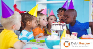 How to throw a kid's birthday party on a budget