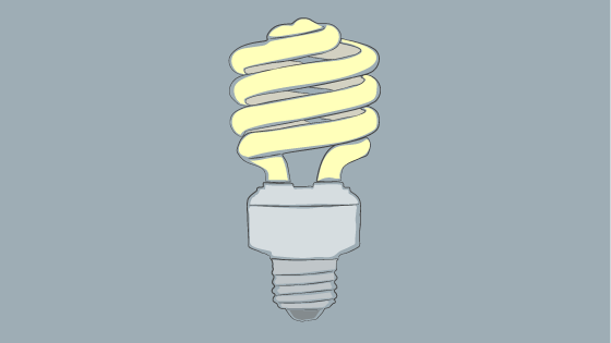 Compact Fluorescent Lamps (CFLs) are not only energy efficient, but they also produce more light