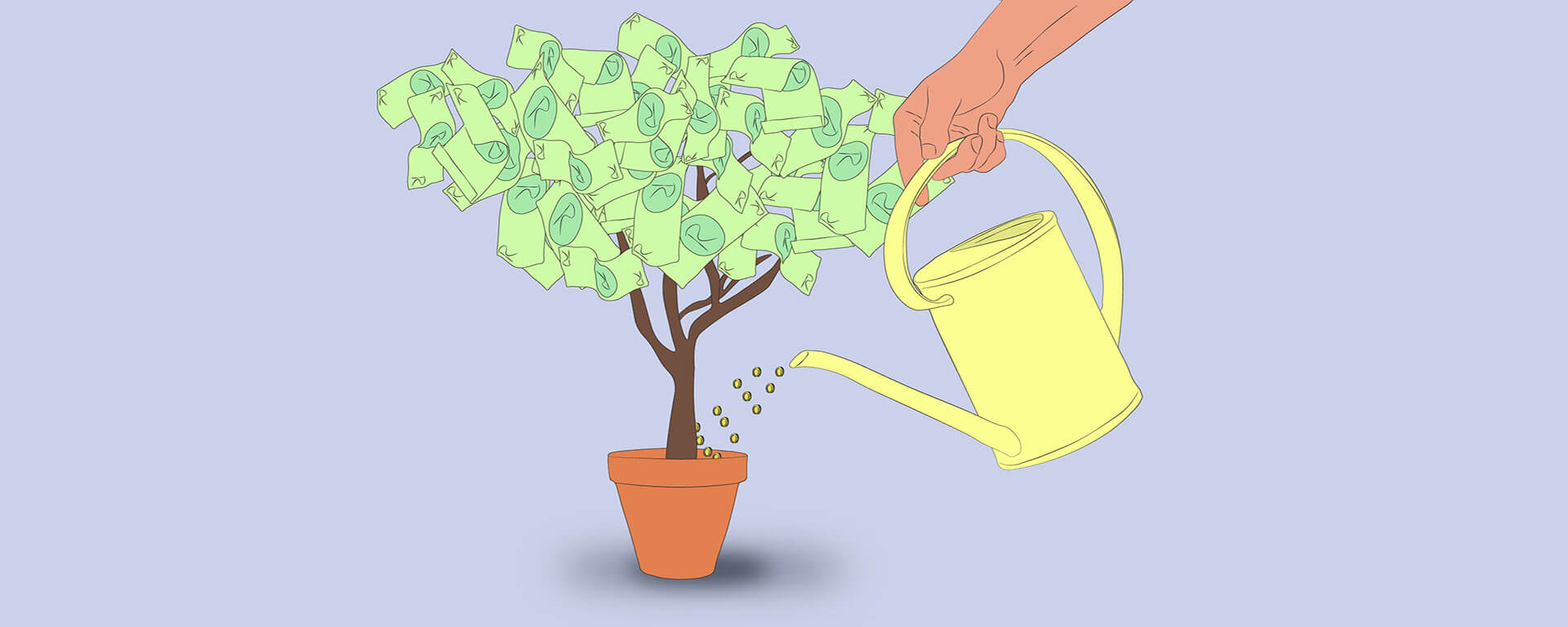 Growing your investment tree to reach financial freedom