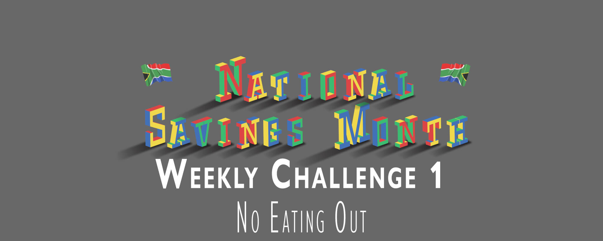 National Savings Month Weekly Challenge 1 - No Eating Out