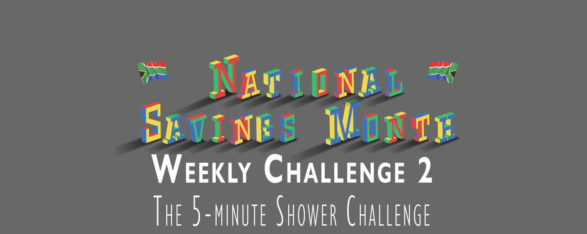 National Savings Month Weekly Challenge 2 - The 5-minute shower
