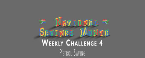 National Saving Month: Weekly Challenge 4, Petrol Saving