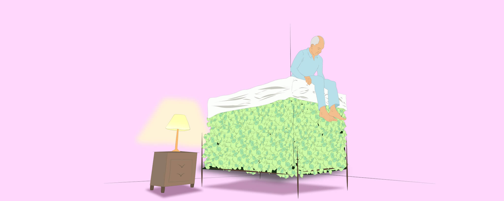 Why money under the mattress is a bad idea