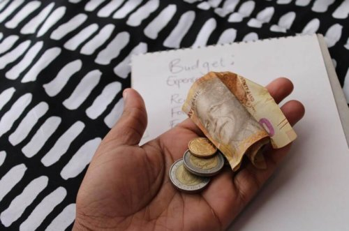 Spare change left after budget is drawn up