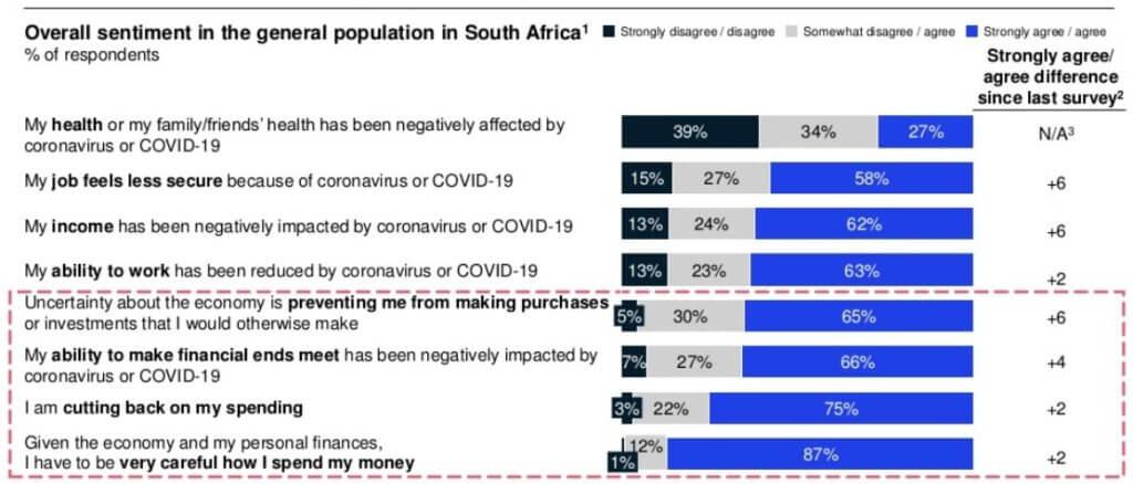 Financial survey taken during Covid-19