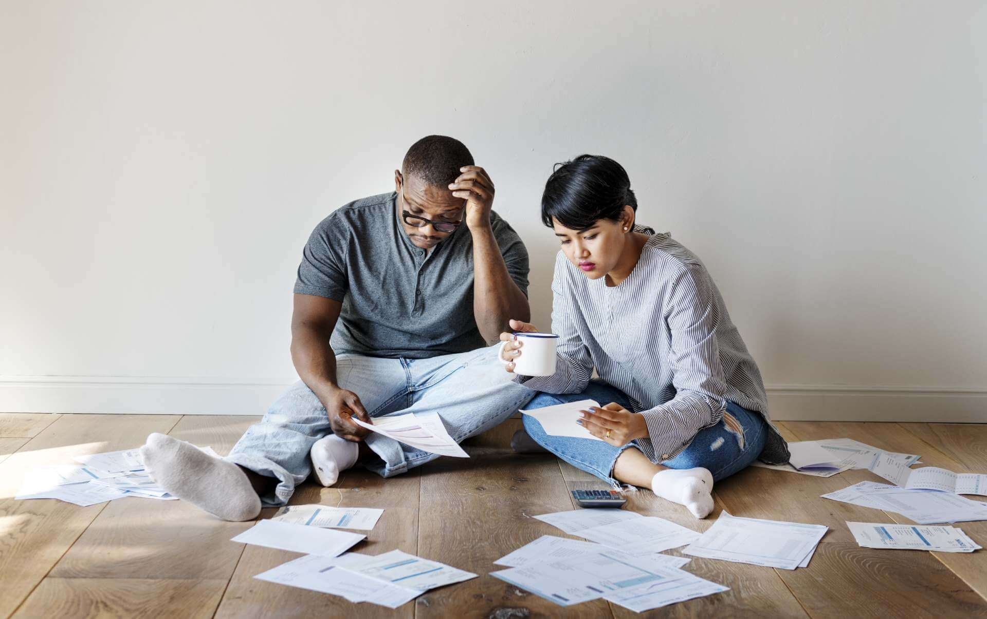 SA couple in deep trouble managing finances on floor