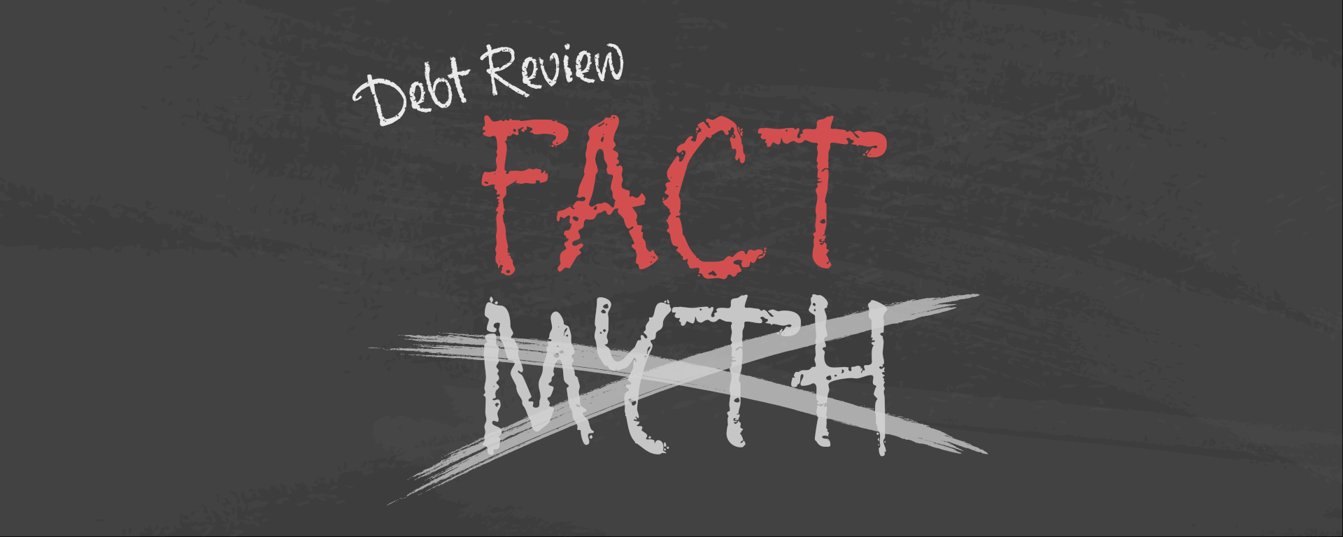 Debt review myths